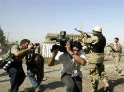 "В бюро \""Би-Би-Си\"" в Багдаде попал минометный снаряд"
