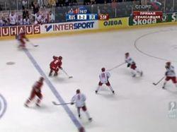 Россия выиграла у Белоруссии лишь в серии буллитов