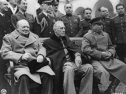 В Сочи увековечили эпохальную встречу Сталина, Рузвельта и Черчилля