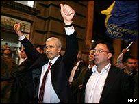 Выборы в Сербии: сторонники Бориса Тадича празднуют победу