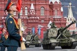 Репортаж с парада в честь Дня Победы в Москве (фото)