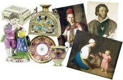 В Петербурге открывается выставка коллекции Ростроповича-Вишневской