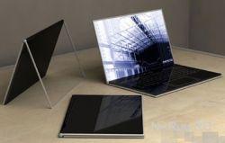 Стильный концептуальный ноутбук от Sony