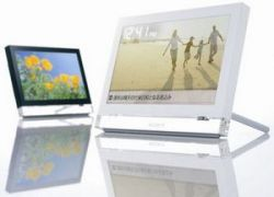 Sony встроит в фоторамку браузер Opera 9.5, Wi-Fi, кардридер и стереодинамики