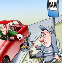 Коррупция в ГИБДД: милиционеры и водители обвиняют друг друга