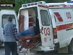 В Великом Hовгороде рухнула карусель в Луна-парке: 11 раненых