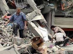 Число погибших при землетрясении в Китае увеличилось до 10 тысяч человек