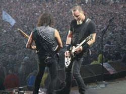 Запись нового альбома Metallica покажут в интернете