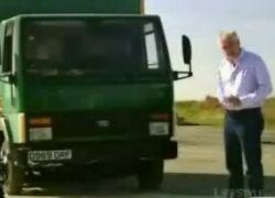 Зверская система остановки грузовиков (видео)