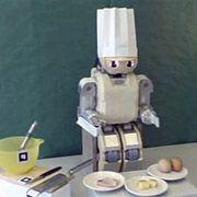 Робот-гуманоид научился готовить омлет
