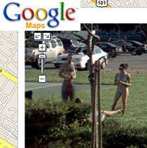 "Google Street View тестирует технологию \""размывания лица\"""