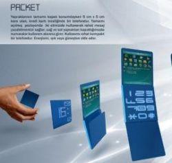 Концепт телефона Packet – компактный, легкий и экологически чистый