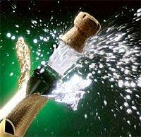 Шампанское – эффективный метод лечения простуды