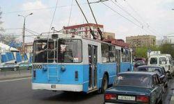 Объезжая собаку, троллейбус сбил 9 пешеходов