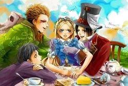 Три Алисы или очередь за наследием Льюиса Кэрролла