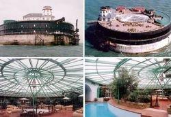 Рукотворный остров-форт стоит 10.000.000 фунтов стерлингов