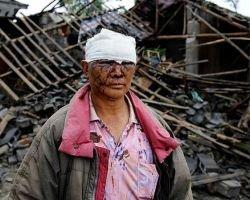 Землетрясение в Китае: новая подборка ужасающих фотографий (фото)