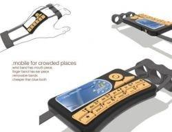 Amit Drongre - любопытный концепт телефона, закрепляемого на ладони