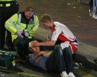 """В Манчестере ранили ножом болельщика \""""Зенита\"""""""