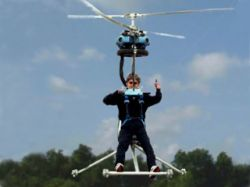 В Японии построили вертолёт Леонардо да Винчи