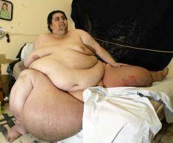 Самый толстый человек в мире хочет установить новый рекорд