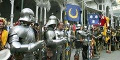 Чехия приглашает туристов на рыцарское сражение