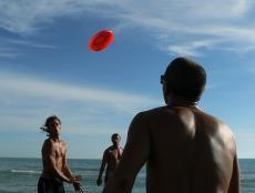 Фрисби - лучшая игра для пляжа и дачи