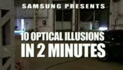 10 оптических иллюзий за 2 минуты (видео)