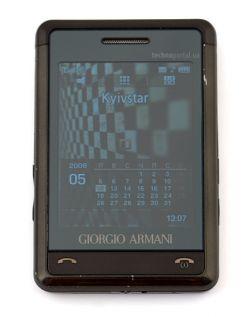 Обзор имиджевого «кардфона» Samsung Armani