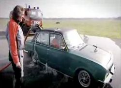 Курьез при перевозке автомобиля на пароме (видео)
