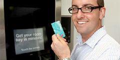 В австралийском отеле сенсорный экран заменил обслуживающий персонал