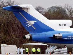 Угонщик самолета из Афганистана работает в аэропорту Хитроу