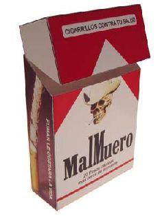 Смерть на пачке сигарет глазами курильщика