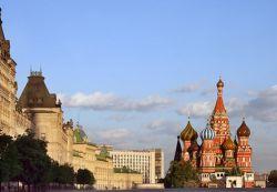 На Красной площади появился футбольный городок