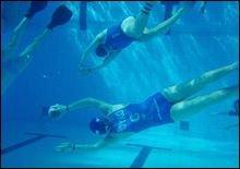Новый вид спорта. Подводное регби