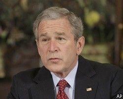 Джордж Буш спешит создать независимое палестинское государство