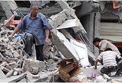 Число жертв землетрясения в Китае превысило 32 тысячи человек