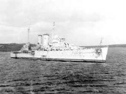 Найдены затонувшие британские корабли времен Второй мировой войны