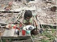 В Бирме дети умирают от голода