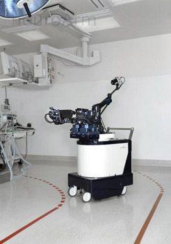 Робот-хирург удаляет опухоль мозга