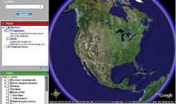 Google Earth обнаружил ракеты, нацеленные на Россию