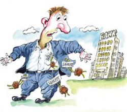 Просрочка по кредиту выгодна банкам, но не заемщику