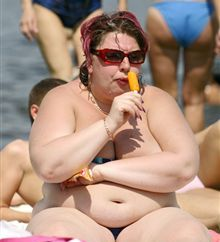 Ожирение делает людей слабоумными