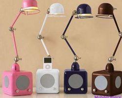 iPod Lamp объединяет док-станцию для iPod и лампу