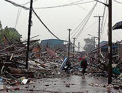 В Китае погибли и пропали без вести более 70 тысяч человек