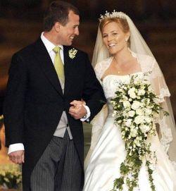 Внук британской королевы женился на канадке (фото)