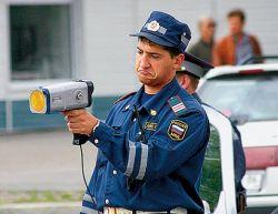 В России может появиться спрей, который \'\'спрячет\'\' автомобили от милицейских радаров