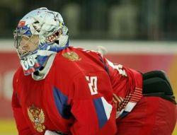 Евгений Набоков признан лучшим вратарем чемпионата мира по хоккею