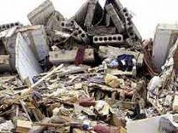 В Китае из-под завалов извлечен живой мужчина, он провел там неделю