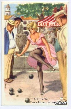 Французский pin-up 50-х годов (фото)